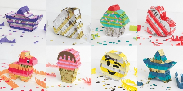 DIY Party Mini Piñatas by We R Memory Keepers