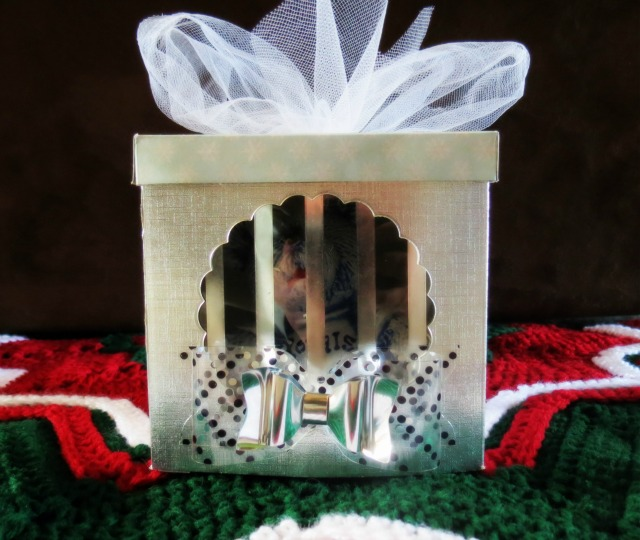 Clearly Posh Gift Box by Carrie Walz for We R Memory Keepers
