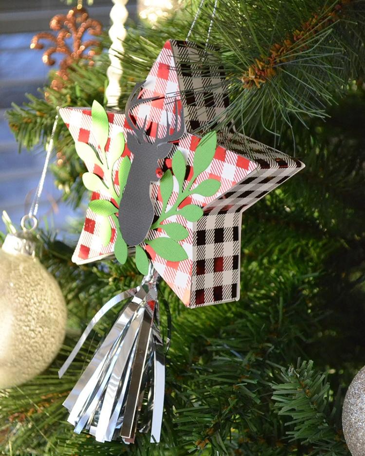 Star Mini Pinata Ornament Favor by Aly Dosdall