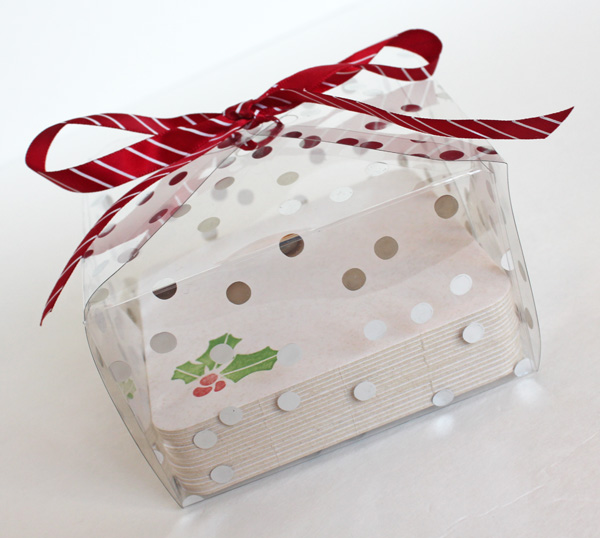 String Tie Treat Boxes by Samantha Taylor for We R Memory Keepers