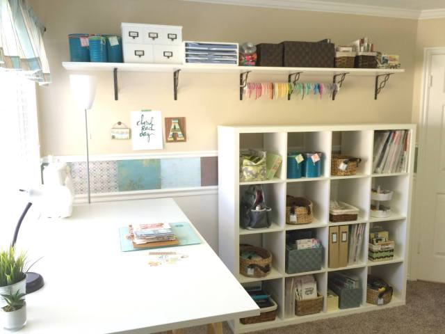 Aly Dosdall Craft Room Re-Do 2015
