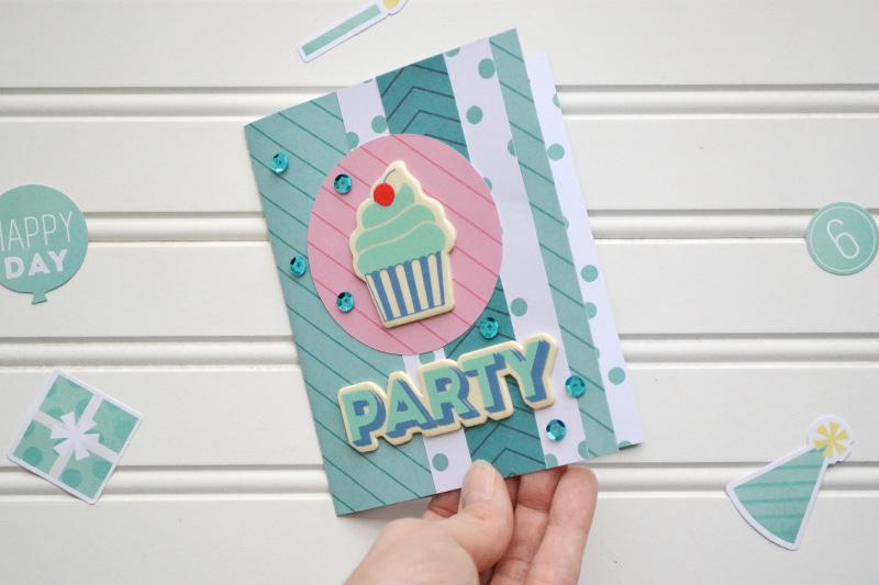 Honeycomb Cupcake Pop Up Card Video Tutorial We R Memory Keepers