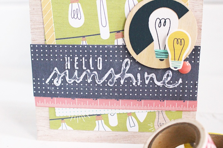 hello sunshine card Kimberly Crawford 2