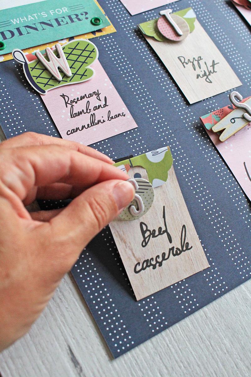 Organization Gallery Menu Planner We R Memory Keepers Blog