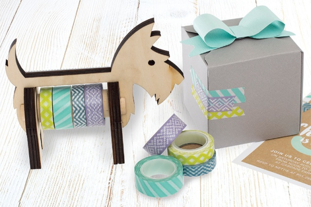 We R Memory Keepers Animal Washi Tape Dispenser Scotty Dog