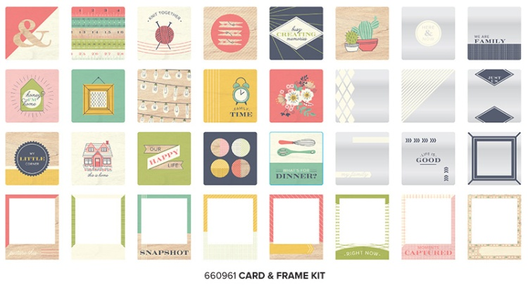 WR_HoneyI'mHome Frame and Card Kit