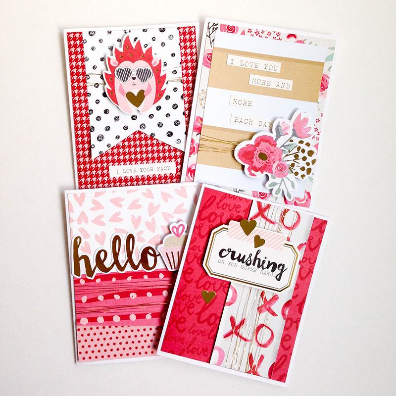 Valentine Card Set We R Memory Keepers Blog