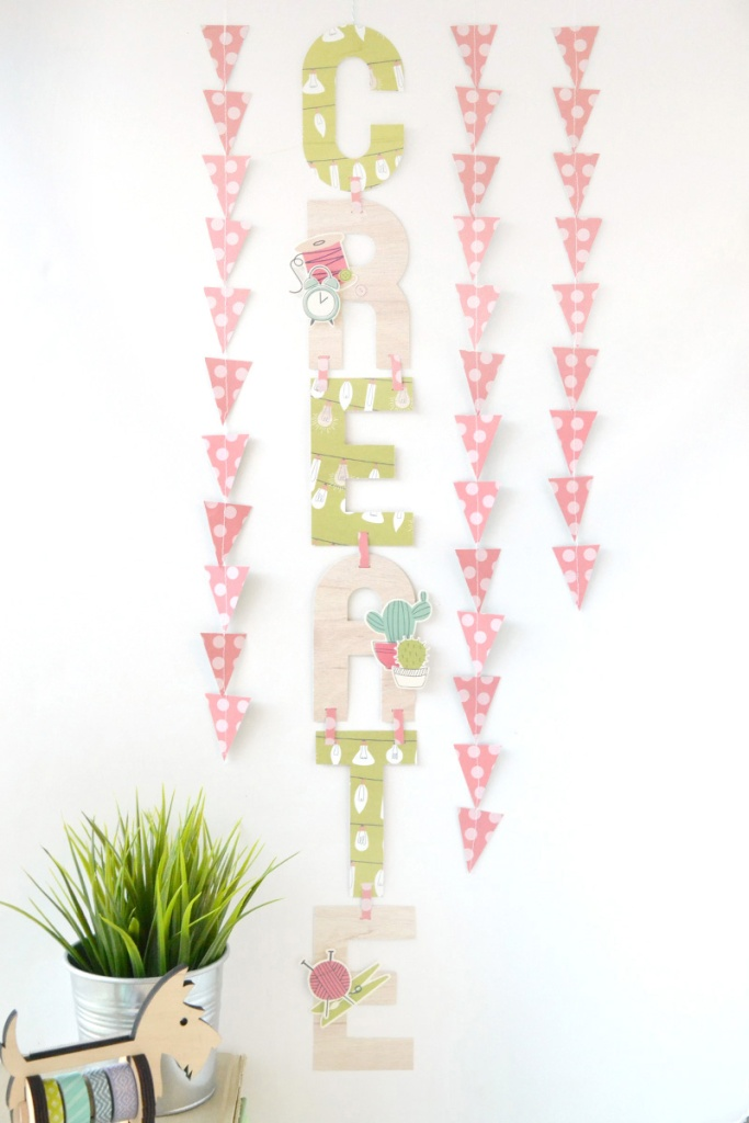 Hanging Garland by Aly Dosdall
