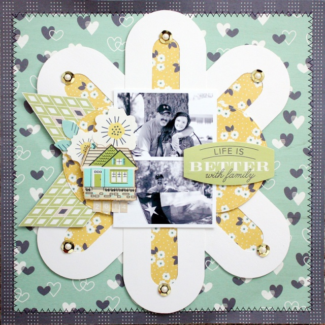 Shellye McDaniel-Alphabet Punch Board Layout for We R Memory Keepers