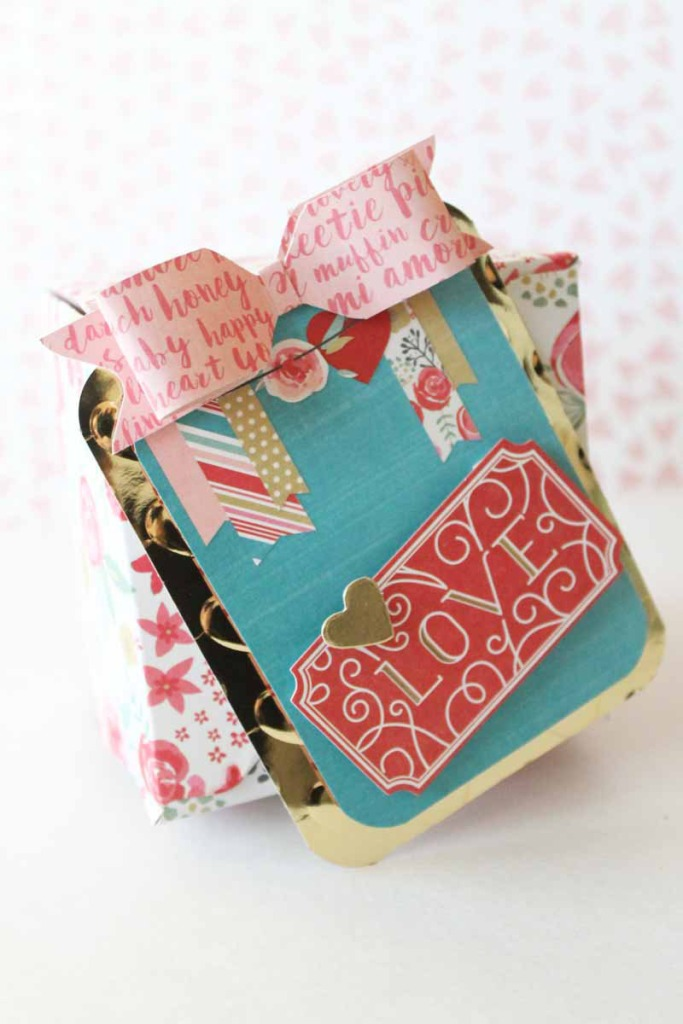 Valentine Gift Box by Laura Silva for We R Memory Keepersl