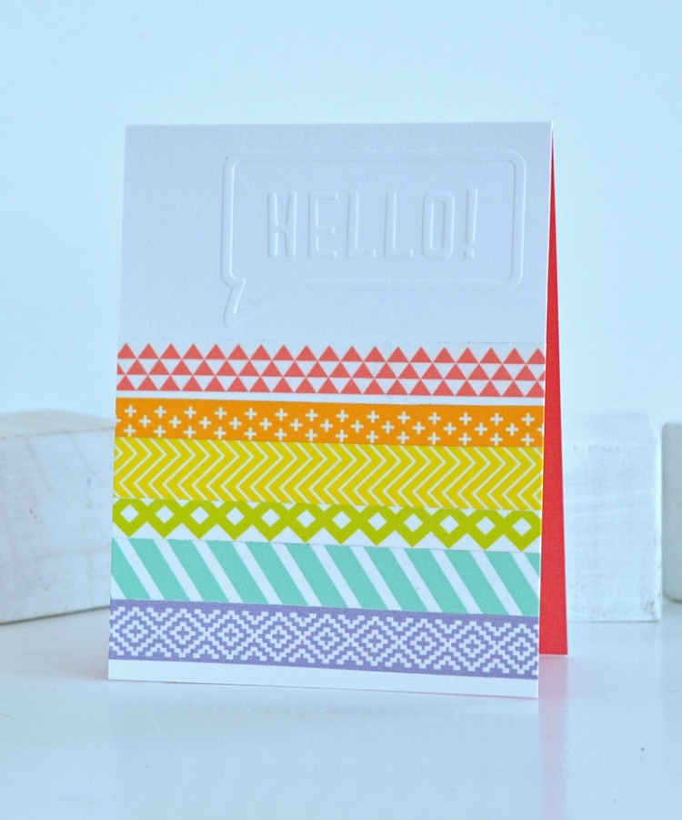 Washi Tape Cards 3