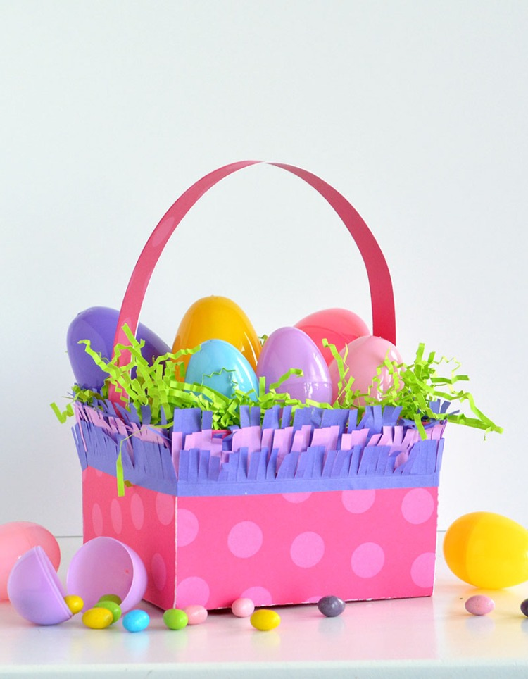 DIY Template Studio Easter Basket by Amanda Coleman for We R Memory Keepers