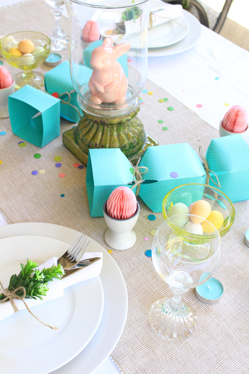 Easter Table Setting We R Memory Keepers Blog