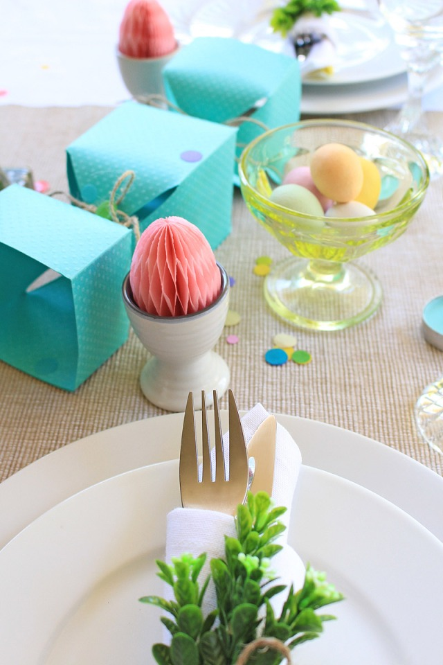 Easter Table Setting by Chantalle McDaniel for We R Memory Keepers