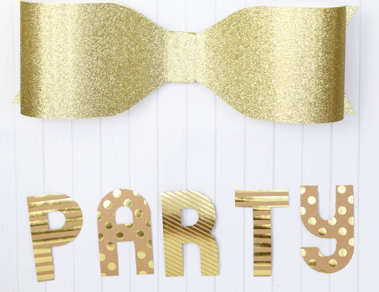 Template Studio Bow Guide Party Decor by Laura Silva 1