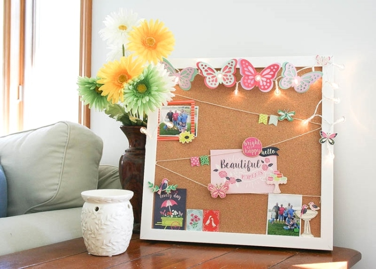 Beautiful Moments Board by Wendy Antenucci for We R Memory Keepers