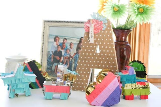 Mini Pinatas Kids Craft by Wendy Antenucci for We R Memory Keepers