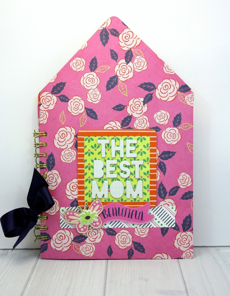 Shellye McDaniel for We R Memory Keepers--Mothers Day Mini Album