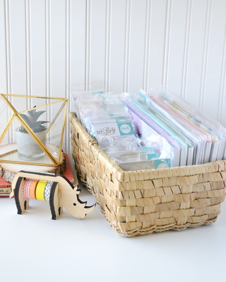 We R Memory Keepers DIY Party Honeycomb Pad Storage by Aly Dosdall