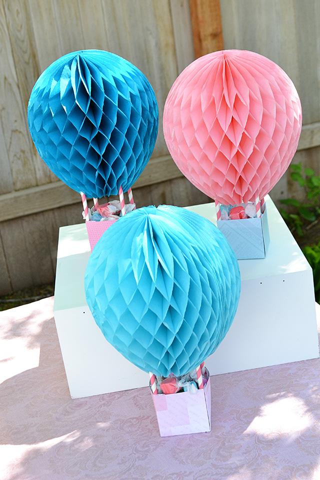 Hot Air Balloon Baby Shower We R Memory Keepers Blog