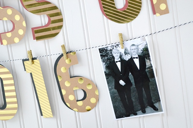Alphabet Punch Board Graduation Banner by Aly Dosdall 3