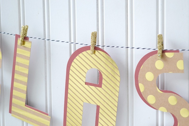 Alphabet Punch Board Graduation Banner by Aly Dosdall 5