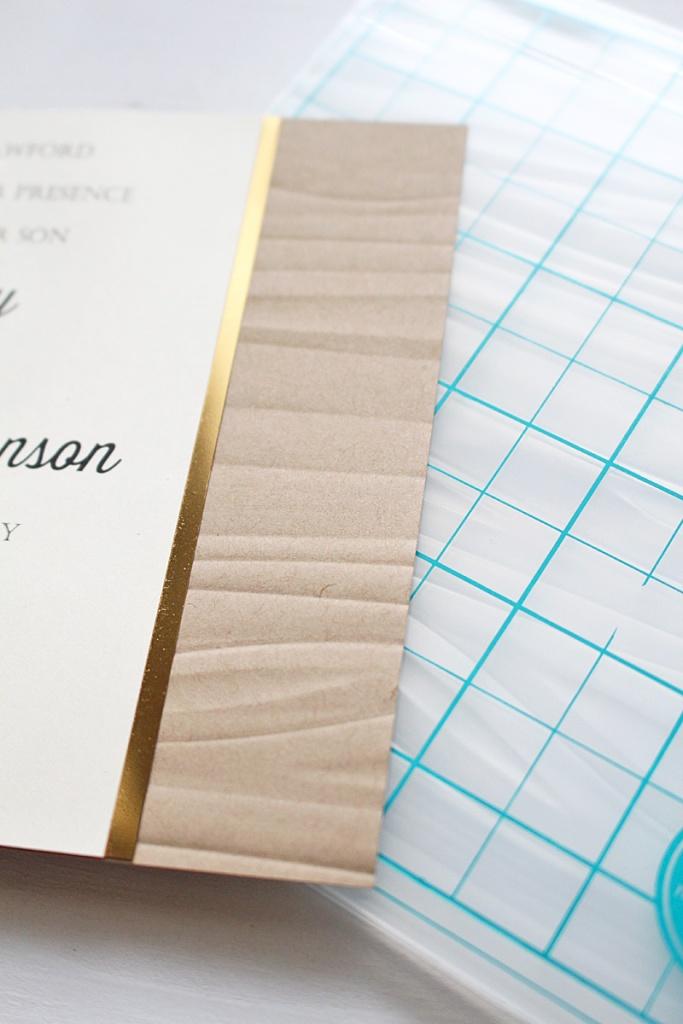 boxed wedding invitation 3 Kimberly Crawford