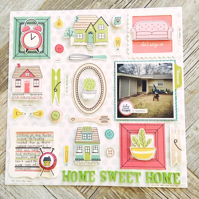 Home Sweet Home_Ginger Scrap