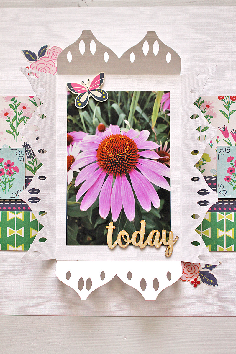 Rosette Punch Layout We R Memory Keepers Blog