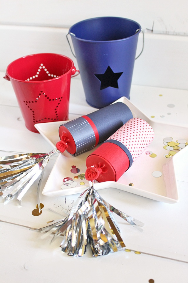 Confetti Poppers by Kimberly Crawford for We R Memory Keepers