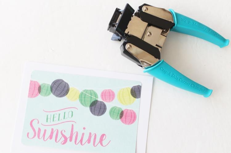 Hello Sunshine Summer Card by Laura Silva 5