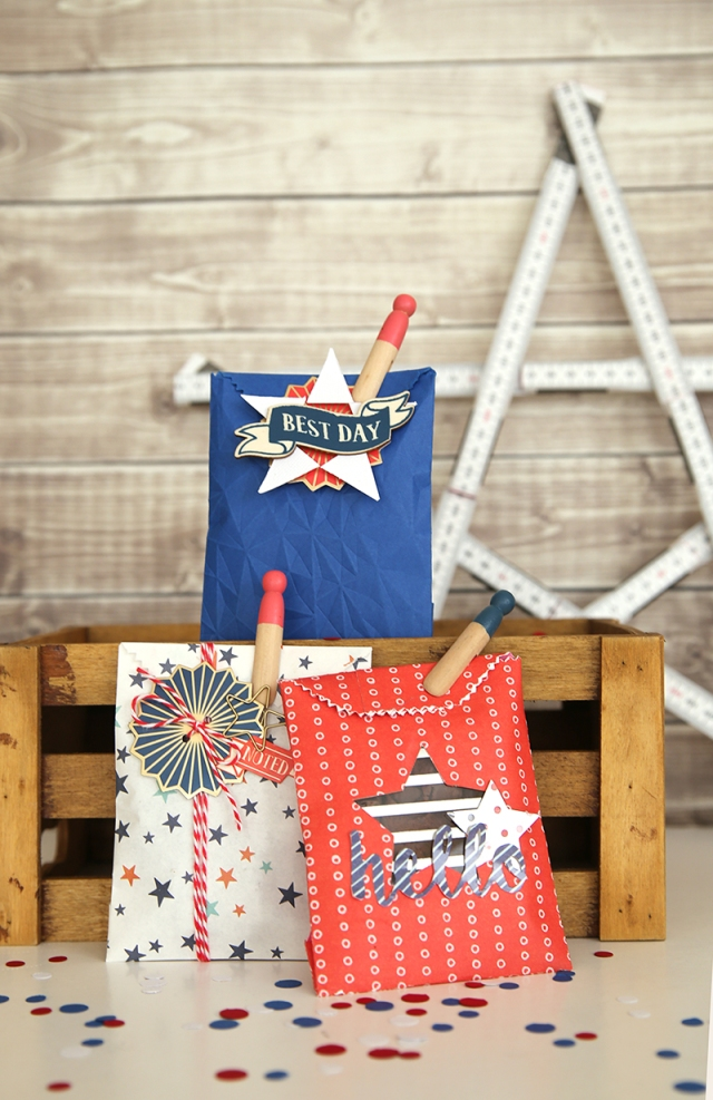 Patriotic Treat Bags by Eva Pizarro 1