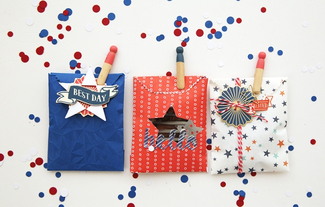 Patriotic Treat Bags by Eva Pizarro 12