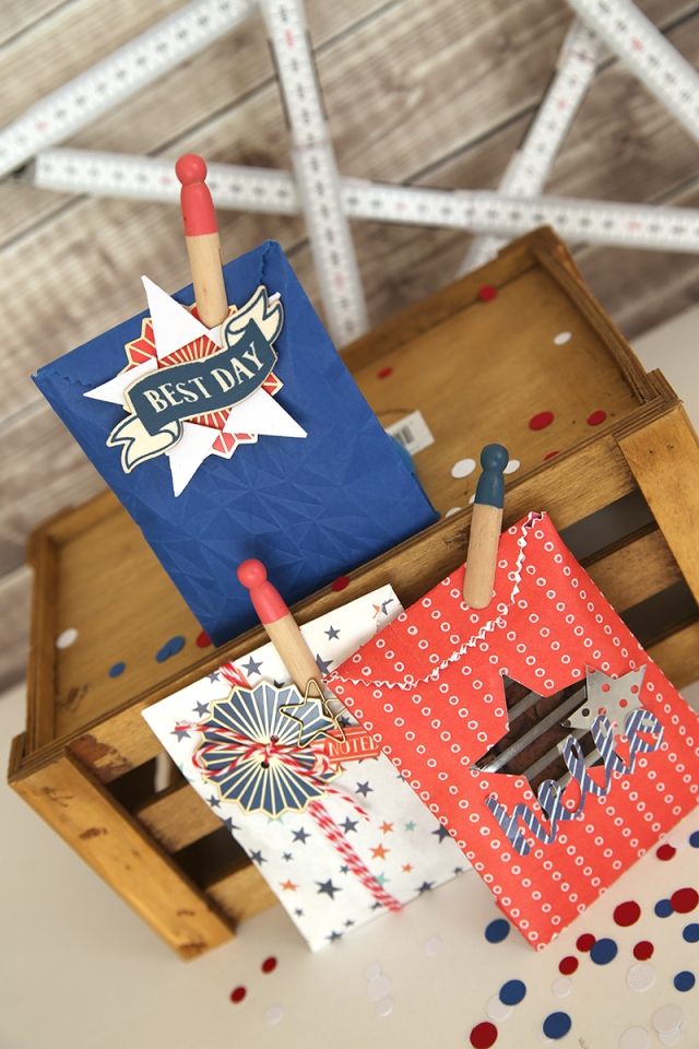 Patriotic Treat Bags by Eva Pizarro 14