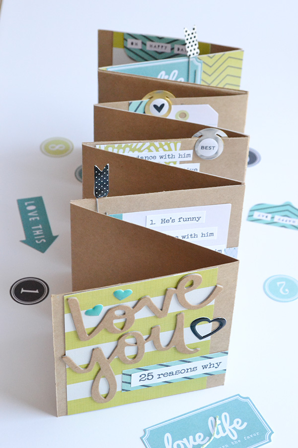 Template Studio Accordion Fold Fathers Day Album by Aly Dosdall 3