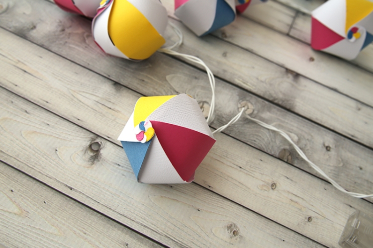 Beach Ball Garland by Eva Pizarro 6