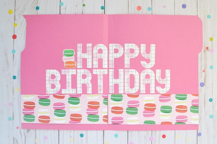 File Folder Birthday Card by Aly Dosdall 5