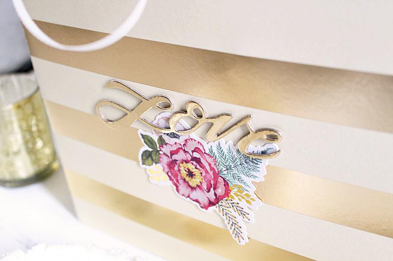 Wedding Gift Bag Template : ton of fun to create my own custom wedding gift bag with the Template ...