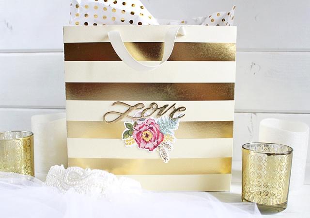 Wedding Gift Bag Template : Template Studio Wedding Gift Bag We R Memory Keepers Blog