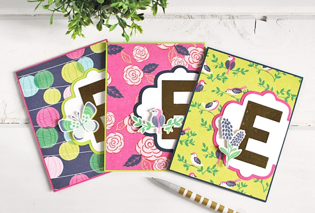 monogram card set 2 Kimberly Crawford