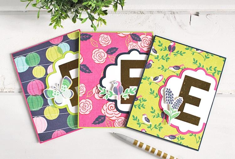 monogram card set 2 Kimberly Crawford