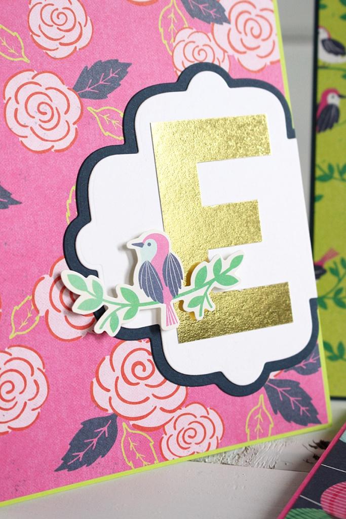 monogram card set 5 Kimberly Crawford
