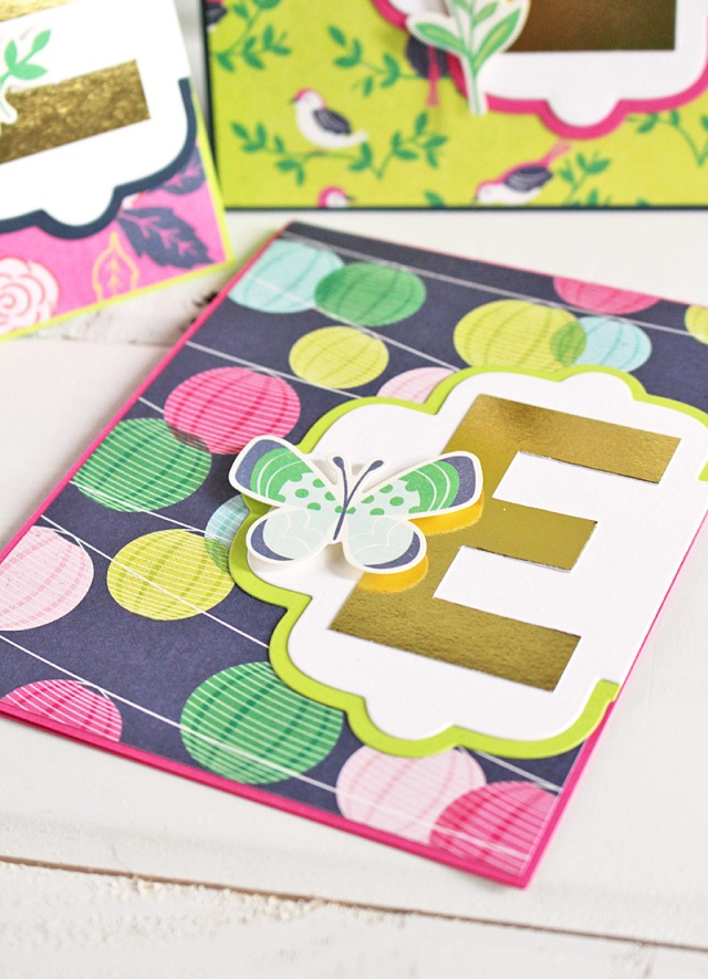 monogram card set 6 Kimberly Crawford