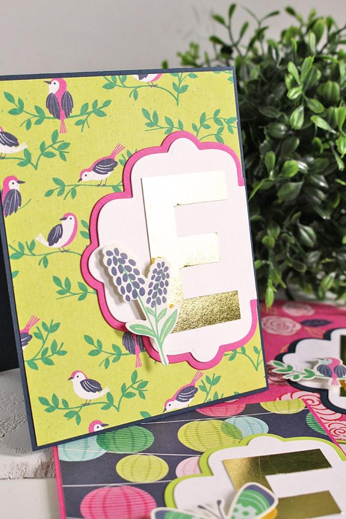 monogram card set 7 Kimberly Crawford