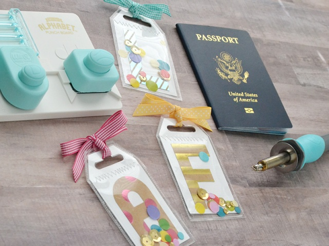 Monogram Luggage Tags by Aly Dosdall 3