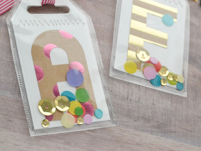 Monogram Luggage Tags by Aly Dosdall 4