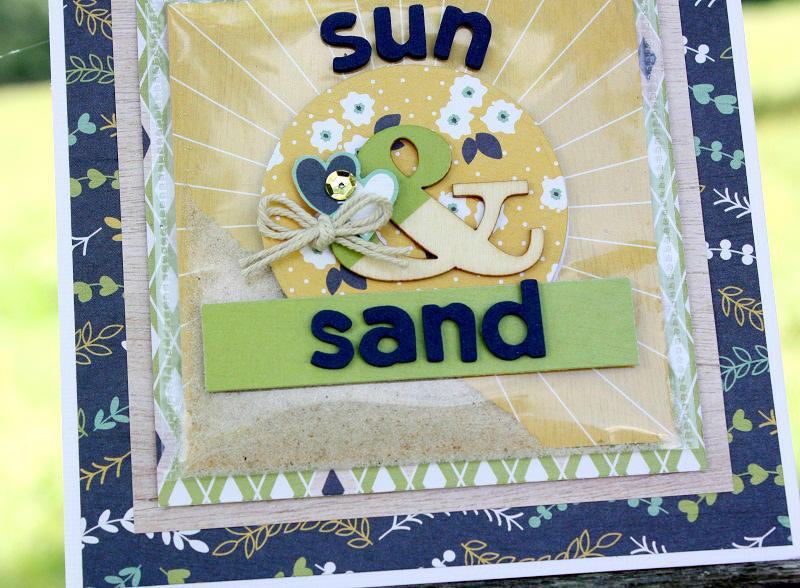 Sun & Sand Beach Card | We R Memory Keepers Blog