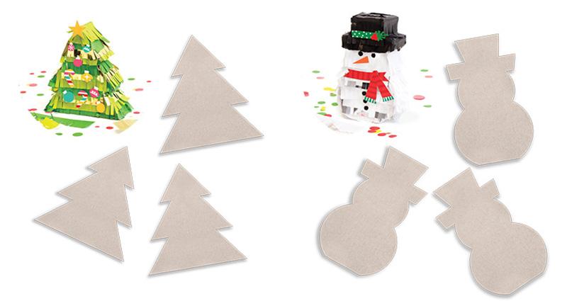 New Releases DIY Mini Piñata Kits We R Memory Keepers Blog - Christmas Tree Pinata