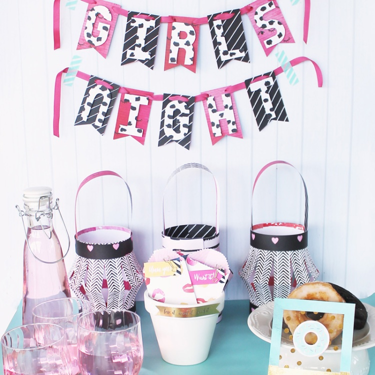 Girls Night Party Decor by Laura Silva 1
