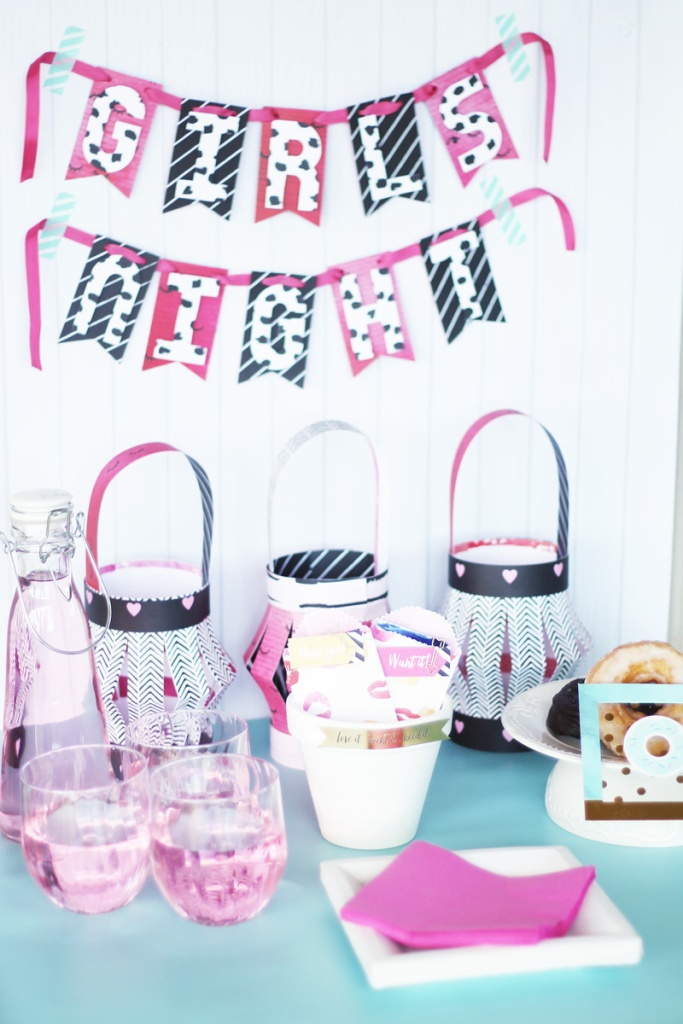 Girls Night Party Decor by Laura Silva 12